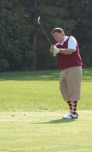 Cass Golf crazy socks